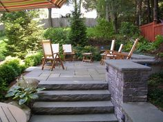 retaining wall natural stone ideas | wyoming, 83001 natural stone ... - Backyard Stone Patio Ideas