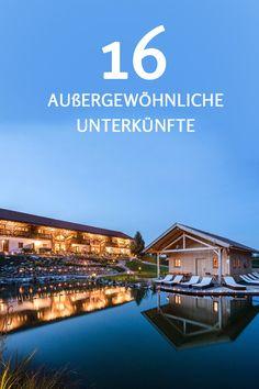 Entdecke 16 außergewöhnliche Unterkünfte auf dem Land! www.landreise.de