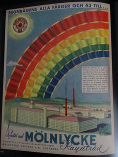Mölnlycke Rayatråd I Mölnlycke Väfveri A.-B., Göteborg I 1943