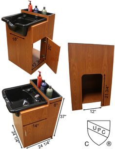 Shampoo Cabinet with Bowl