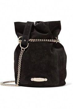 470984dfe466 LANVIN Aumoniere Mini Suede Bucket Bag. #lanvin #bags #shoulder bags #bucket
