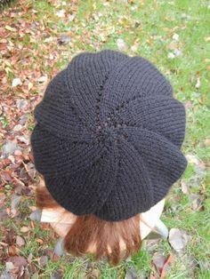 knutsel-mam: Weer een gebreide baret..
