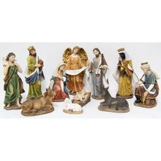 Hi-Line Gift Ltd. Nativity 11 Piece Statue Set - 81712