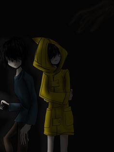 Did You Hear Something? [Little Nightmares] by Pancake-the-Pikachu