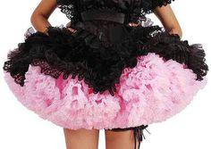 Fluffy pink petticoat