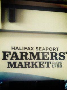 At the farmer's market via @BlairLangille