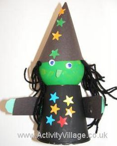Witch crafts for kids of all ages...