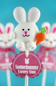 Easter Bunny Cake Pops -tutorial inside -