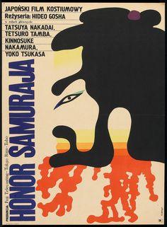 Goyokin (Hideo Gosha, 1969) Polish design by Maciej Zbikowski