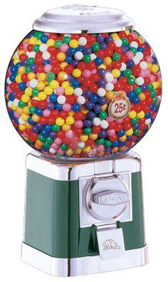 Ball Globe Beaver Gumball Machine