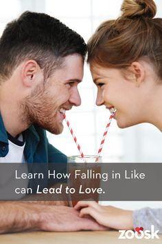Learn how falling in like can lead to love. There is no algorithm for love, but Zoosk believes there is one for like. As you use Zoosk, we learn who you like and who likes you back. That way, the more you use Zoosk, the more information we have to help recommend people you may hit it off with!