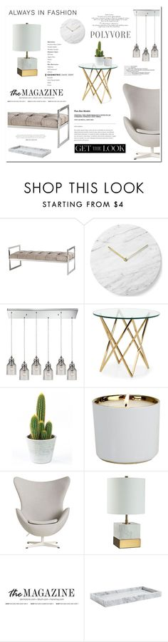 """CORAZON"" by ironono ❤ liked on Polyvore featuring interior, interiors, interior design, home, home decor, interior decorating, Eichholtz, Menu, D.L. & Co. and Universal Lighting and Decor"