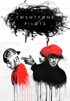 TWENTY ONE PILOTS Poster by Beka