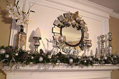 mantle 1024x682 2012 Christmas Tree & Mantle