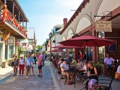 Aviles Street... the oldest street in the nation! Nocatee residents are only 12 miles from the historic street! St Augustine, FL.