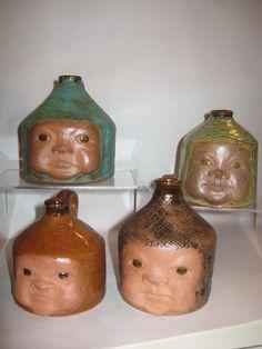 Baby Buddha Face Jugs