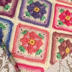 Ravelry: Window Box Granny pattern by Lisa Mauser