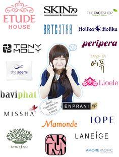 Asian make up brand