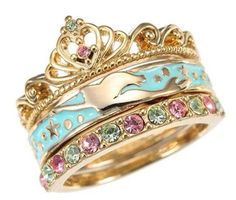 Little mermaid ring! It looks just like one of Ariel's treasures that she'd keep in her room!