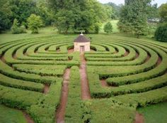The Labyrinth in New Harmony, Indiana.
