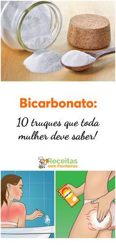 10 truques com bicarbonato que toda mulher deve saber!