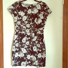 Flowered mini dress Worn once Love Culture Dresses Mini