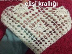 Knitted Shawls, Knitted Bags, Crochet Shawl, Crochet Boarders, Crochet Patterns, Bolero Pattern, Crocodile Stitch, Sunflower Tattoo Design, Learn How To Knit