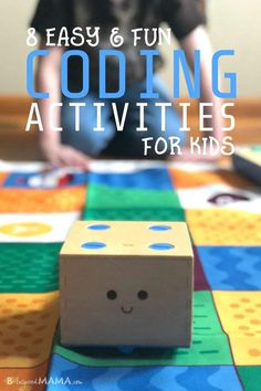 Teach your child to code with one of these 8 Easy and Fun Coding Activities for Kids. They'll learn basic computer programming (without a computer!) and have so much FUN they won't even realize they're learning! PLUS, learn about our new favorite coding robot toy, Cubetto! #sponsored #technology #tech #techtoys #toys #kids #kidsactivities #cubetto #STEM #STEMactivities #coding #code #learning #earlylearning #preschool #kbn #binspiredmama