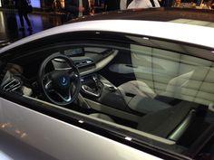 BMW i8 inside
