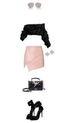 """""""Untitled #290"""" by zen325 ❤ liked on Polyvore featuring Michelle Mason, E L L E R Y, Marchesa and Christian Dior"""
