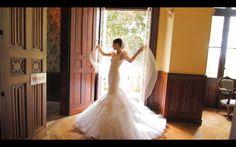 coco rocha's wedding dress by zac posen.