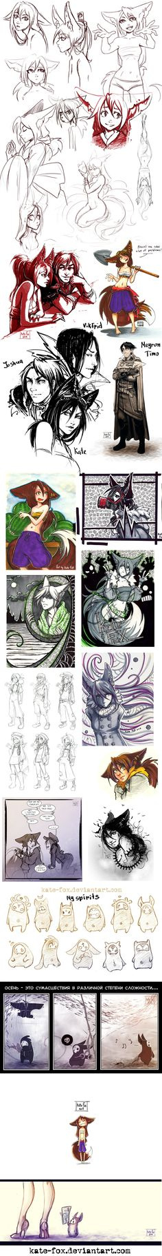 sketches13 by Kate-FoX.deviantart.com on @DeviantArt