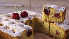 Η κερασόπιτα της Μακεδονίας μας... Τώρα που τα κεράσια υπάρχουν σε αφθονία φτιάξτε μια τέλεια κερασόπιτα με την ελαφρώς τραγανή υφή της και την υπέροχη Yummy Cakes, Muffins, Cooking Recipes, Snacks, Breakfast, Desserts, Breads, Foods, Bakken