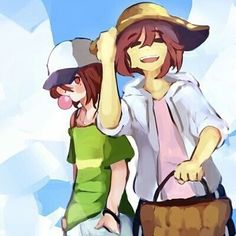 frisk n chara bein happy is,, The Best