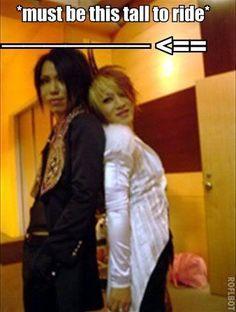 Aoi and Ruki. The GazettE