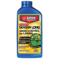 Bayer Advanced 704260A Southern Season Long Weed Control for Lawns Concentrate, 32-Ounces by Bayer Advanced. $25.64. Proprietary 2-in-1 formula. Won?t harm lawns (when used as directed). Post-emergent: kills existing broadleaf weeds. Pre-Emergent: Prevents new broadleaf weeds for up to 6 months (Does not provide pre-emergent or post-emergent control of Crabgrass; see product label for kill/prevent weed list). Offers up to 6 months of control with only 1 applicatio...