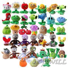 PLANTS vs. ZOMBIES Children Plush Soft Toy Kids Gift Soft Plush Teddy Toys Dolls #PVZ