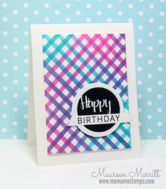Hello there! Today I'm sharing a set of cards that I made using stencils. I mentioned in one of my recent posts that I haven't done a. Distress Ink, Flipping, Birthday Cards, Stencils, Stamps, Diy Crafts, Card Ideas, Blog, Backgrounds