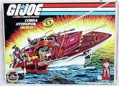 Lamprey (v1) G.I. Joe Action Figure - YoJoe Archive