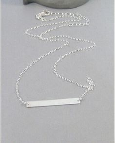 Wholesale Mix Color 2015 Fine Jewelry Pvd Stainless Steel Unique Geometric Jewelry Crosswise Bar Necklace For Women In Gold Or Silver From Wondersjewelry, $16.03 | Dhgate.Com