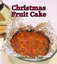 Christmas Fruit Cake. Easy to follow recipe without using hundreds of ingredients. Great for anyone wanting to make a Christmas Cake for the first time.  #Christmas #fruitcake