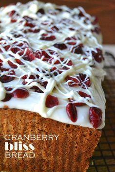 Cranberry Bliss Bread