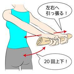 そろそろノースリーブを着たいけれど、ぷよぷよの二の腕が気になる方のために、だらしない二の腕を解消するエクササイズを10種類ご紹介します!