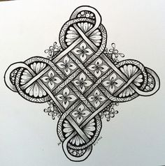 First Celtic knot by Hollyw54, via Flickr