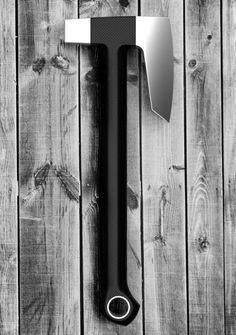 Bearded axe, modern design.