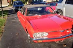 Vairy Rusty: 1967 Corvair Convertible - http://barnfinds.com/vairy-rusty-1967-corvair-convertible/