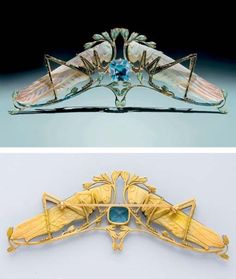 René Lalique brooch via Christie's I wish Lalique would do reproductions of Rene's work!