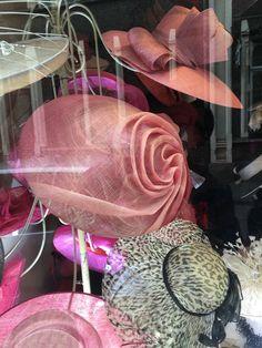 Fascinators, Headpieces, Hat Shop, Haberdashery, Veils, Sisal, Van, Sculpture, Sombreros