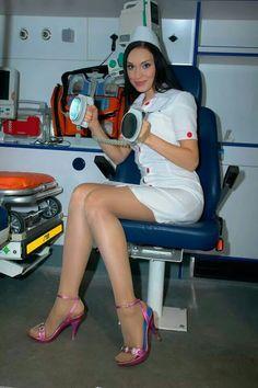 Sexy nurses stockings free consider, that