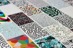 Business Cards by William Branton, via Behance Textures Patterns, Print Patterns, Online Portfolio Design, Stationary Branding, Stationery, Business Card Design Inspiration, Print Layout, Graphic Design Posters, Typography Logo